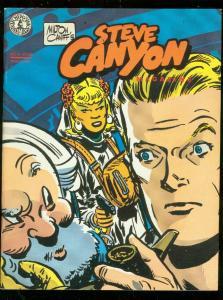 STEVE CANYON MAGAZINE #6 1984-MILTON CANIFF COMIC ART FN