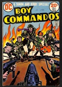 Boy Commandos (1973) #1