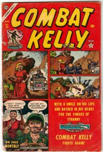 Combat Kelly #21 (Apr-54) VG Affordable-Grade Combat Kelly