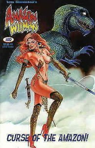 Amazon Woman (2nd Series) #3 VF/NM; FantaCo   save on shipping - details inside