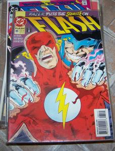 FLASH # 85 1993 dc  wally west razer tv show