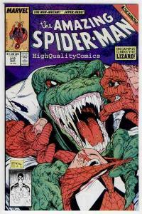 Amazing SPIDER-MAN #313, VF/NM, Lizard, Todd McFarlane, 1963, David Michelinie