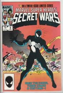 Marvel Super Heroes Secret Wars #8 (Dec-84) NM/MT Super-High-Grade Marvel Her...