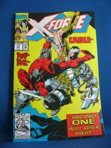 X FORCE 15 VF NM Deadpool Cable 1992