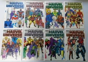 Official Handbook of the Marvel Universe Update '89 Set:#1-8, NM (1989)