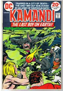 KAMANDI #10, FN+, Jack Kirby, Last Boy on Earth, 1972, more in store