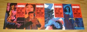 Criminal: the Last of the Innocent #1-4 VF/NM complete series - ed brubaker 2 3