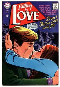 FALLING IN LOVE #93 comic book 1967-DC ROMANCE COMICS-HOT COVER