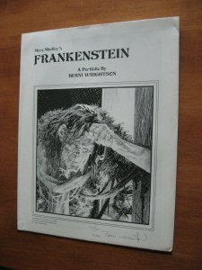 FRANKENSTEIN PORTFOLIO SIGNED BERNI WRIGHTSON 1978