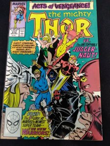 The Mighty Thor #412 1st  FULL APPEARANCE OF NEW WARRIORS VF+/NM-