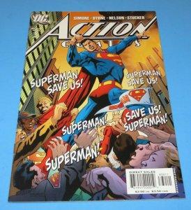 Action Comics #830 NM- DC Comic Book John Byrne Art Superman The Savior