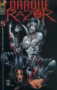 Darque Razor #1/2A (½ half) VF/NM; London Night   save on shipping - details ins