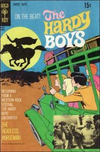 Gold Key THE HARDY BOYS (1970 Series) #3 VG/FN