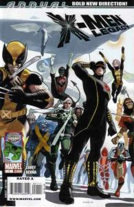 X-MEN: LEGACY ANNUAL (2009 MARVEL COMICS) #1