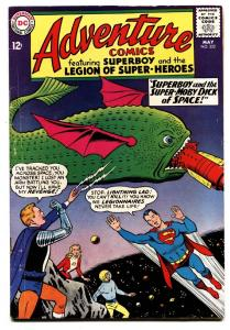 ADVENTURE COMICS #332 comic book 1966-SUPERBOY LEGION SUPER-HEROES