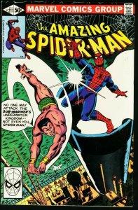AMAZING SPIDER-MAN #211-1980-MARVEL VF