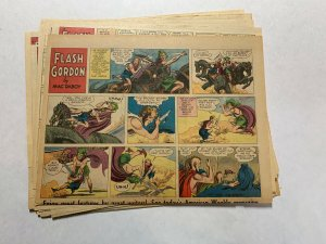 Flash Gordon Complete Year 1955 Tabloid Size Color Newspaper Sundays