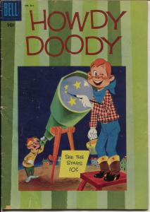 Howdy Doody #811-Four Color Comics 1957-Dell-based on the TV series-VG
