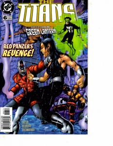 Lot Of 5 The Titians DC Comic Books #6 7 8 9 10 Batman Superman DC5