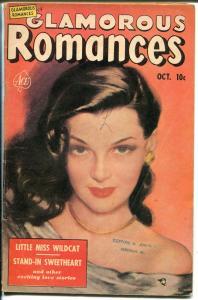 Glamorous Romances #54 1951-Ace-portrait cover-excellent girl art-VG