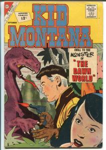 Kid Montana #36 1962-Charlton-Pete Morisi-sci-fi cover and story-VG/FN