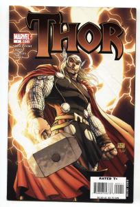 THOR #1 comic book 2007  First issue-Michael Turner cover
