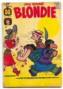 Blondie Comics #141 1960- Harvey humor G/VG