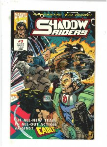 Shadow Riders #1 NM- 9.2 Marvel UK Comics 1993 Cable app.