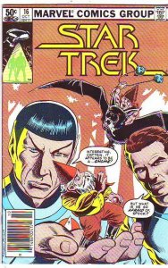 Star Trek #16 (Oct-85) VF/NM High-Grade Captain Kirk, Mr Spock, Bones, Scotty