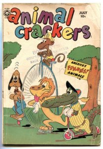 Animal Crackers #31 1950- Bicycle cover- Gerber No Show G