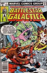 Marvel BATTLESTAR GALACTICA (1979 Series) #7 FN