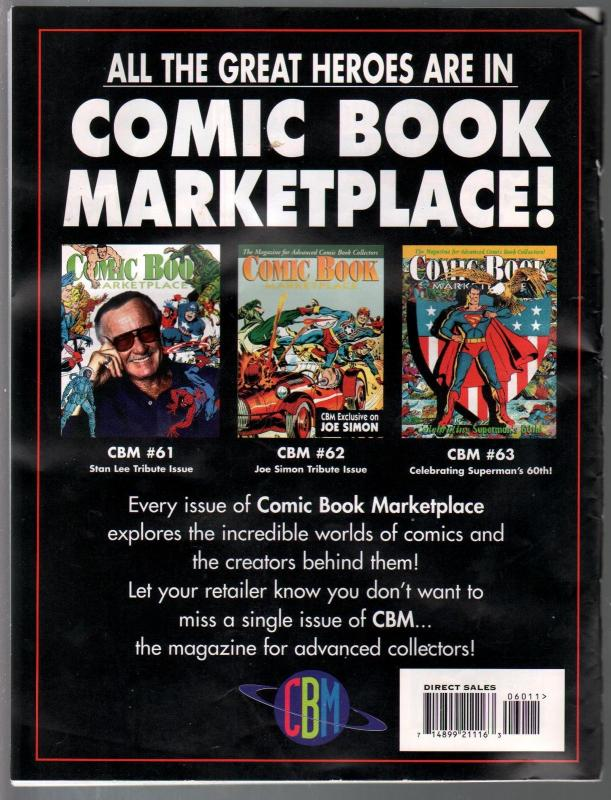 Comic Book Marketplace #60 1998-Planet Comics-Blackhawk.-VG