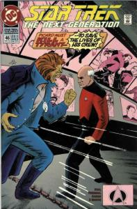 Star Trek: The Next Generation #46 FN; DC | save on shipping - details inside