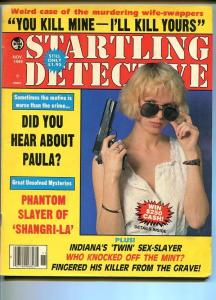 STARTLING DETECTIVE-10/1982-INDIANA'S TWIN SEX-SLAYER-GREAT UNSOLVED MYST VG