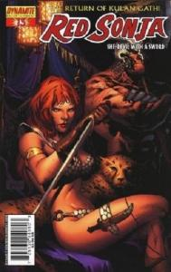 Red Sonja #13 (Aug 2006, Dynamite Entertainment)- Billy Tan Cover
