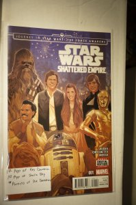 Star Wars: Journey to Star Wars: The Force Awakens - Shattered Empire #1 (2015)