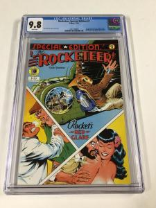 Rocketeer Special Edition 1 Cgc 9.8 White Pages Eclipse Comics