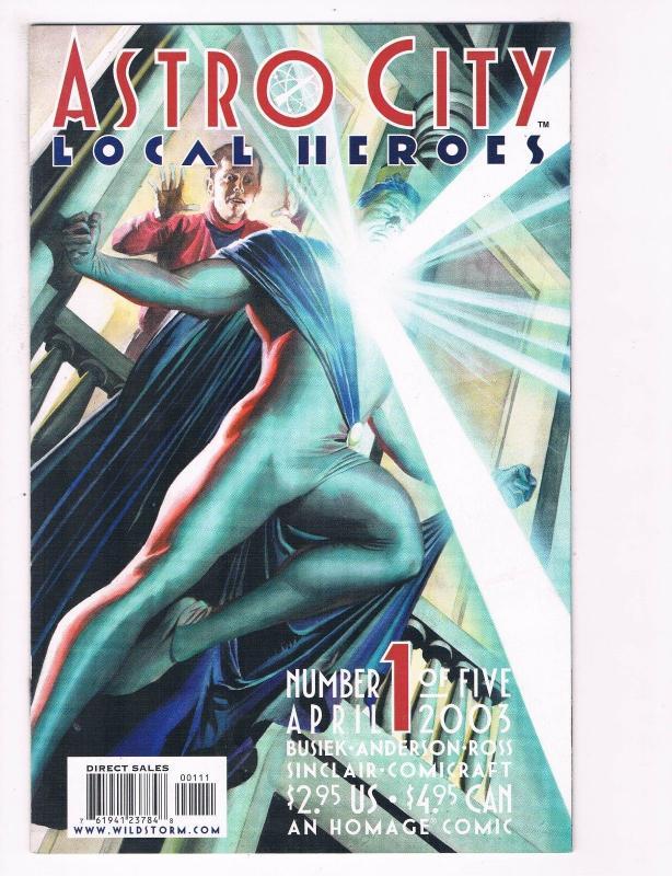 ASTRO CITY LOCAL HEROES #3