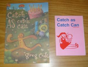 Catch As Catch Can OGN VF/NM man-hunt for the gingerbread man + rare preview!