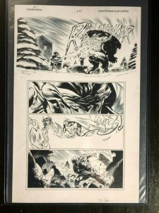 Amazing Spider-Man Venom Inc: Omega Original Art by Ryan Stegman