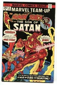 Marvel Team-up #32 1975 HUMAN TORCH - SON OF SATAN VF-