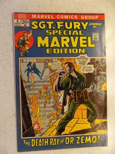 MARVEL SPECIAL EDITION # 6 SGT. FURY WAR ACTION ADVENTURE