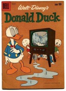 Walt Disney' Donald Duck #75 1961- Dell Comics F/VF