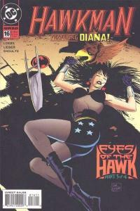 Hawkman (1993 series) #16, NM (Stock photo)