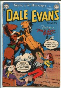 Dale Evans #22 1952-DC-western-rare late issue-VG