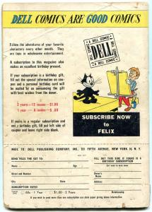 Felix the Cat #11 1949- Golden Age Funny Animal- Famous rake cover G+