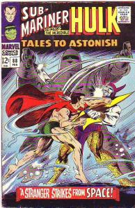 Tales to Astonish #88 (Feb-67) FN Mid-Grade Incredible Hulk, Namor the Sub-Ma...
