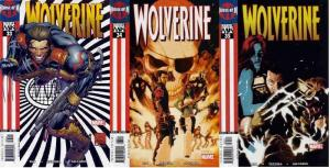 WOLVERINE (2003) 33-35  Chasing Ghosts