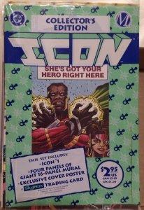 Icon #1 VF still in original poly bag collectors edition