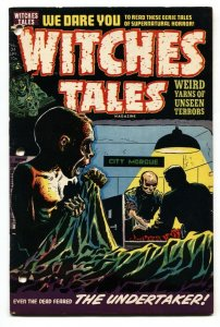 Witches Tales #24 1954-Harvey-pre-code horror-bizarre terror stories